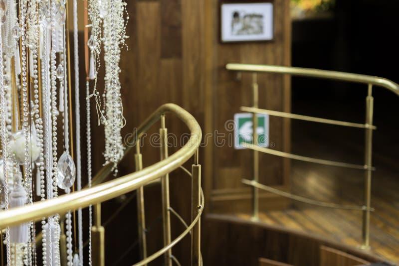 hall d'entrée à la maison de luxe image libre de droits