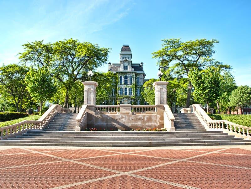 Hall d'université de Syracuse des langages photo libre de droits