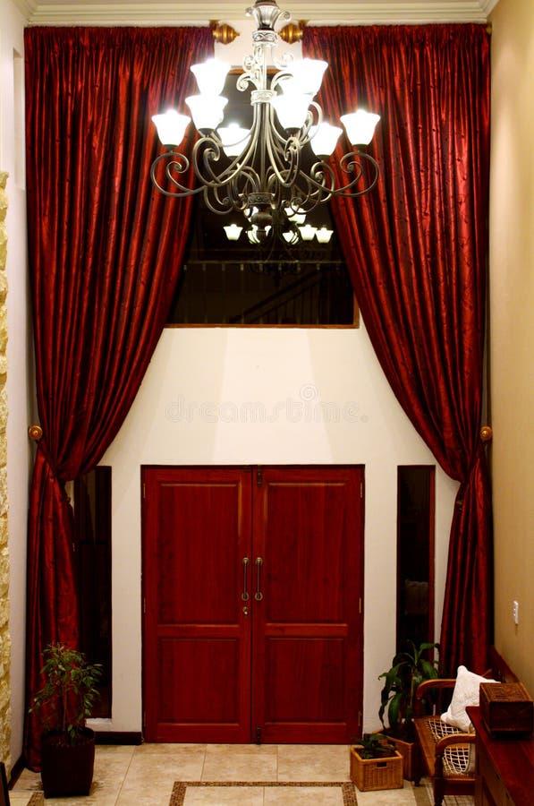 Hall de entrada grande fotografía de archivo