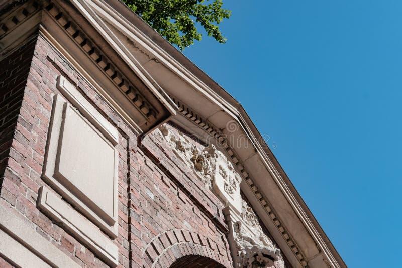 Hall de entrada de la Universidad de Harvard, Harvard, mA fotografía de archivo libre de regalías