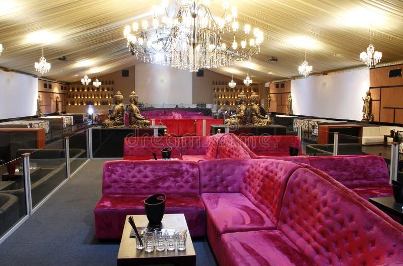 Hall de luxe de réception photographie stock