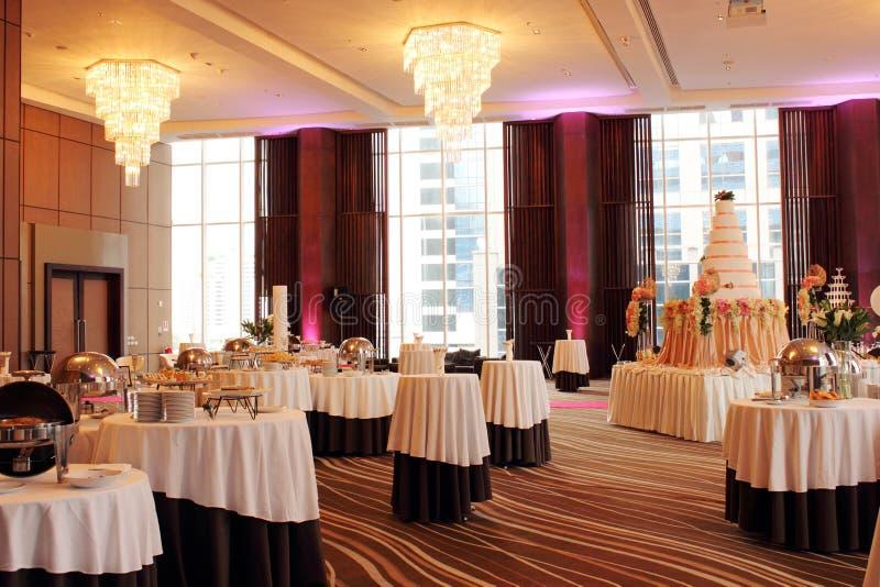 Hall de mariage photos stock