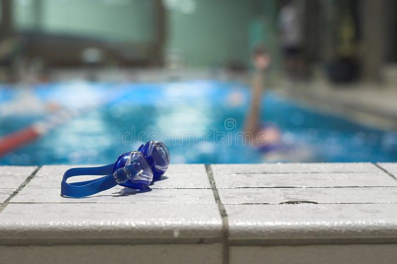 Hall de natation image stock