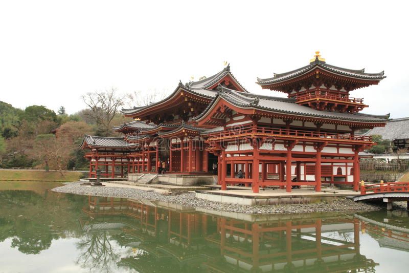 Hall de Phoenix de temple de Byodoin images libres de droits
