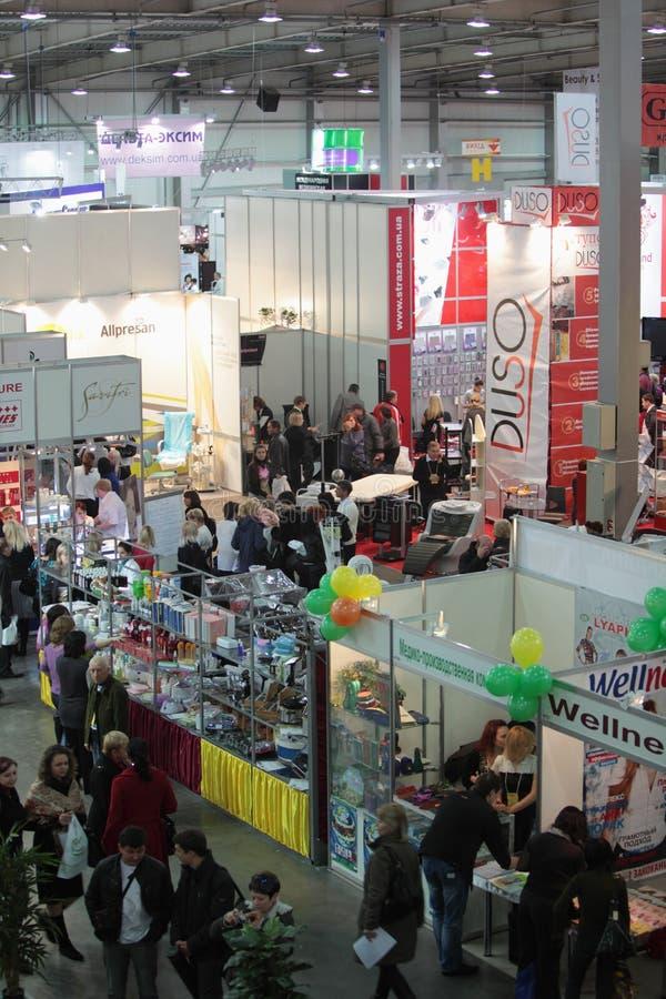 Hall der Ausstellung. stockfotografie