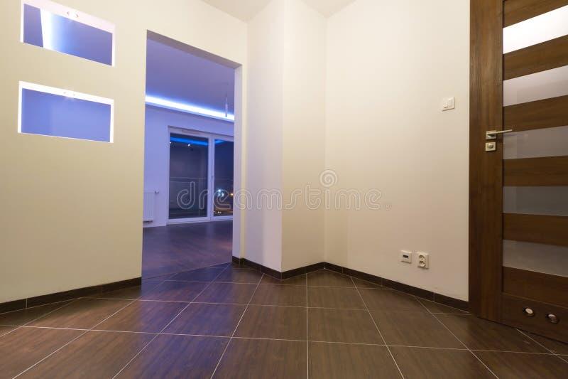 Hall Der Modernen Ebene Lizenzfreie Stockbilder