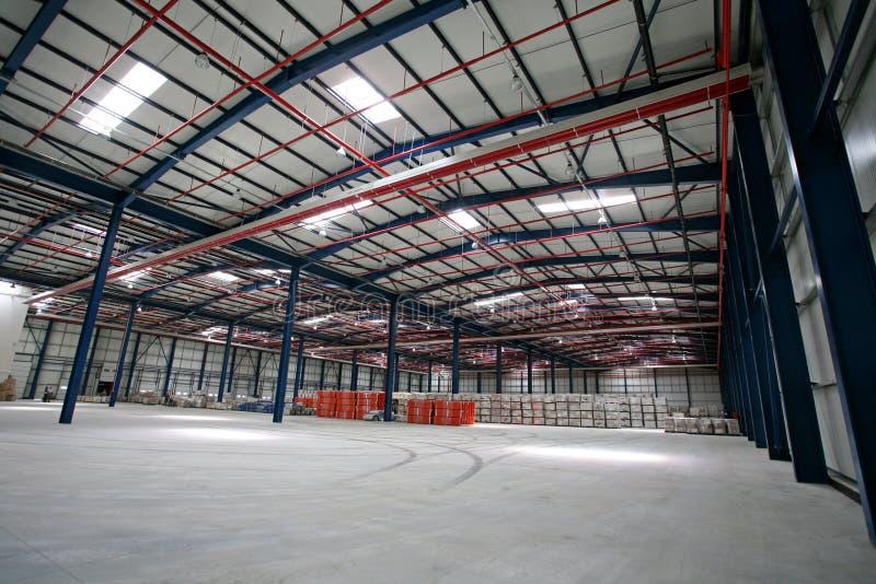 Hall factory royalty free stock photo