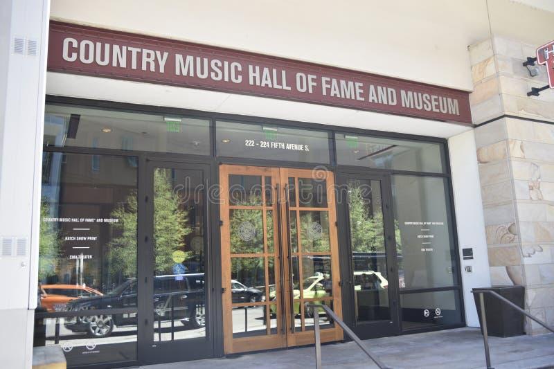 Hall of fame και μουσείο country μουσικής στοκ φωτογραφία με δικαίωμα ελεύθερης χρήσης
