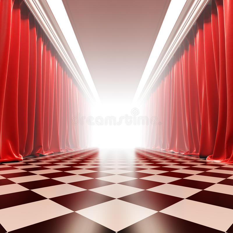 Hall of fame. απεικόνιση αποθεμάτων