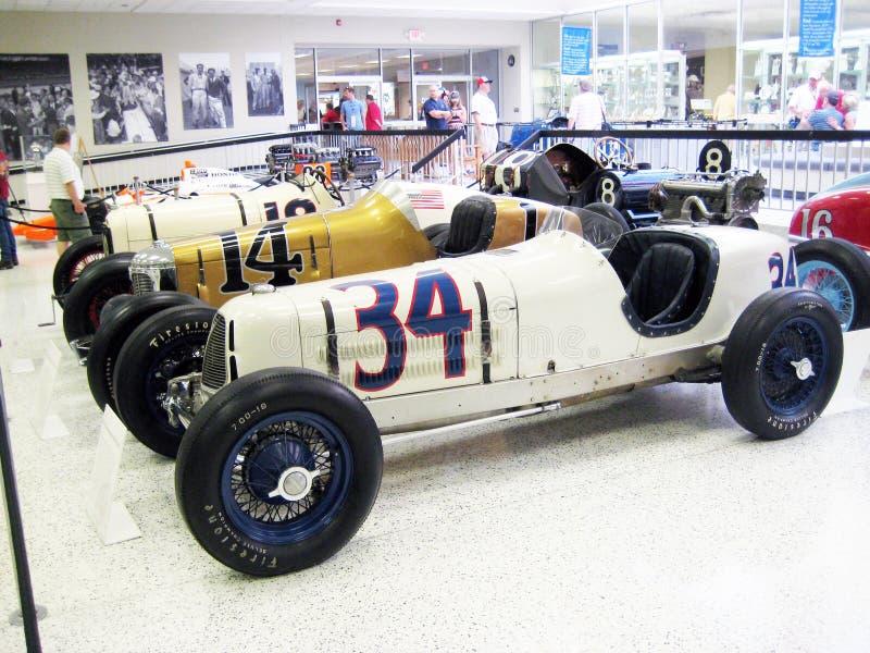 Hall of Fame-Museum Indianapolis Motor Speedway lizenzfreie stockfotos