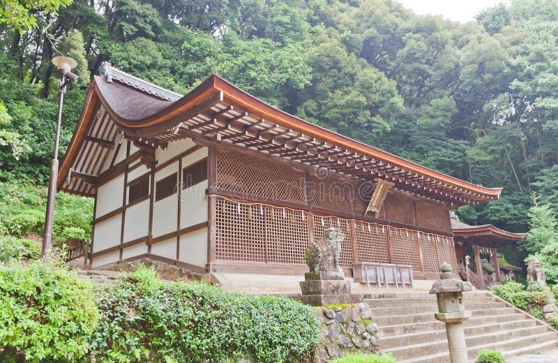 Hall Honden principal y x28; 1067& x29; de la capilla sintoísta de Ujigami en Uji, Japón fotos de archivo