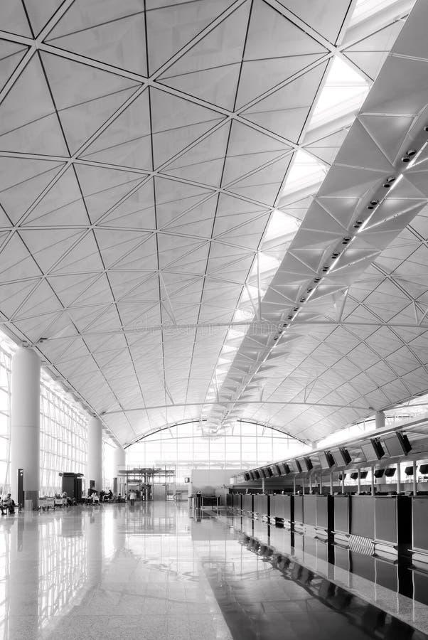 Hall Of Hong Kong International  Airport Royalty Free Stock Image