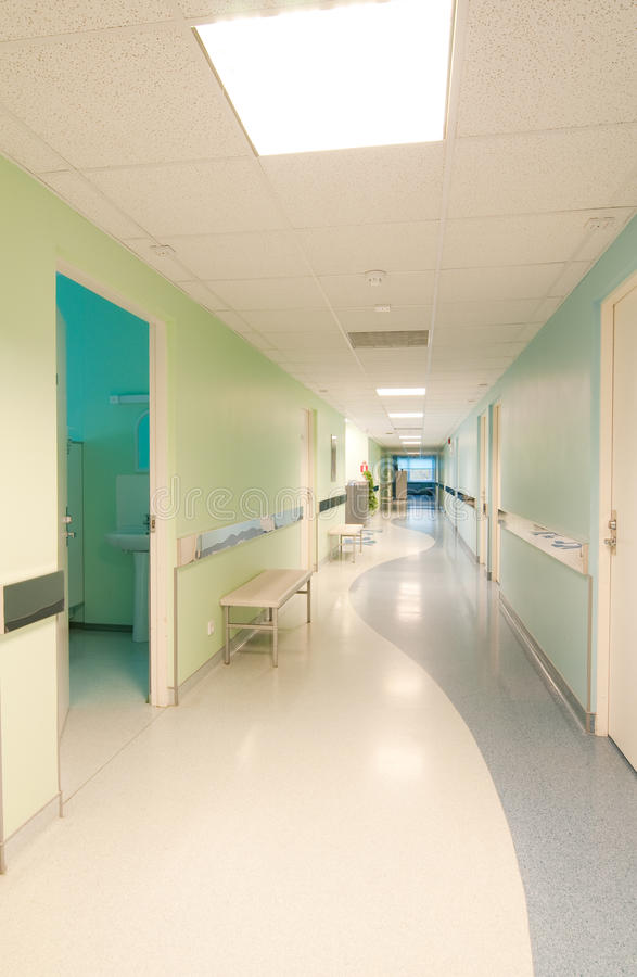 Download Hall in hospital stock image. Image of area, bright, inside - 12666153