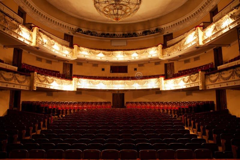 Hall im Theater stockfotografie