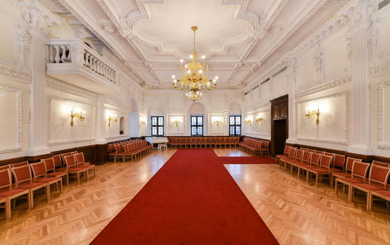 Hall interior royalty free stock images