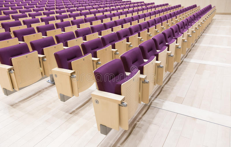 Hall letton de Bibliothèque nationale de chaises photos stock