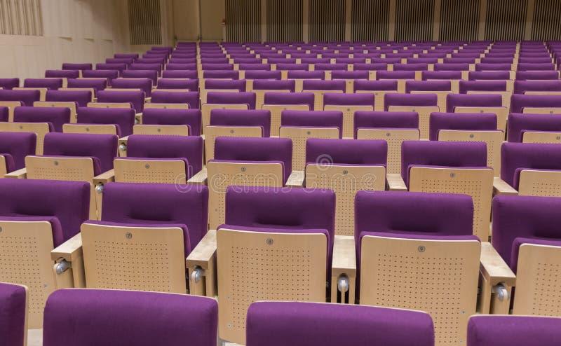 Hall letton de Bibliothèque nationale de chaises photos libres de droits