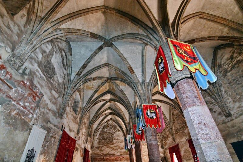 hall médiéval photographie stock libre de droits