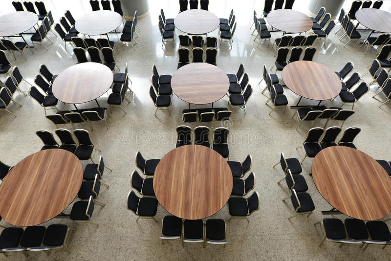 Download Hall with many table stock photo. Image of chair, meeting - 30254588