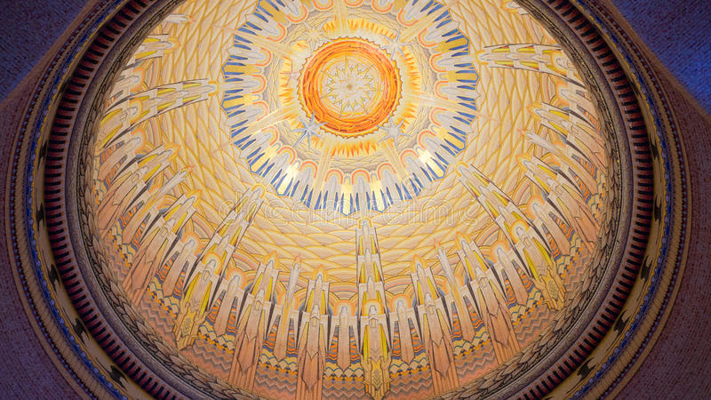 Hall of Memory Dome royalty free stock photography