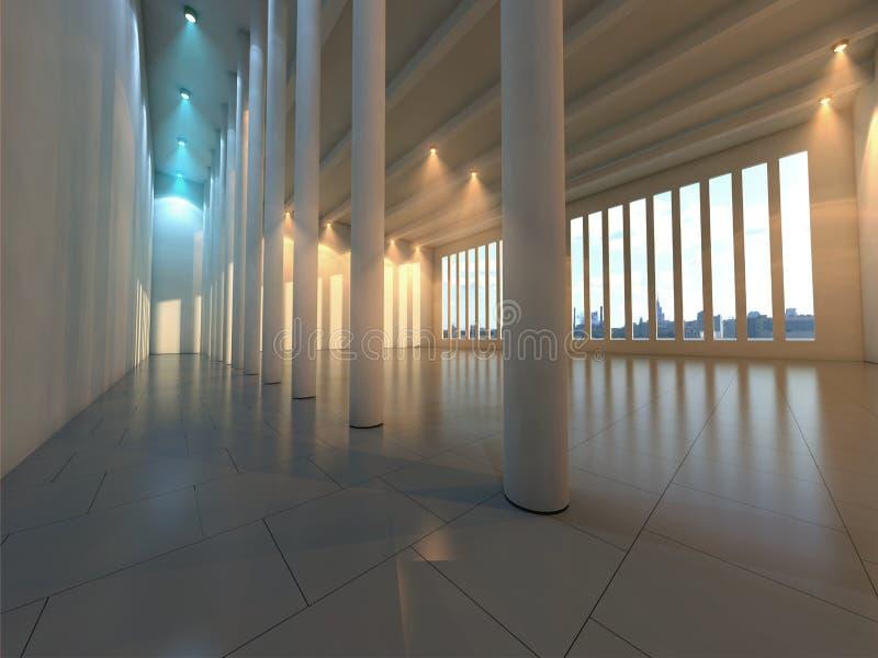 Hall moderne vide illustration libre de droits