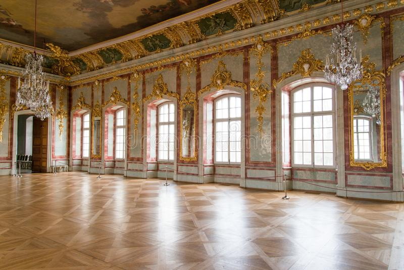 Hall in a palace royalty free stock photography