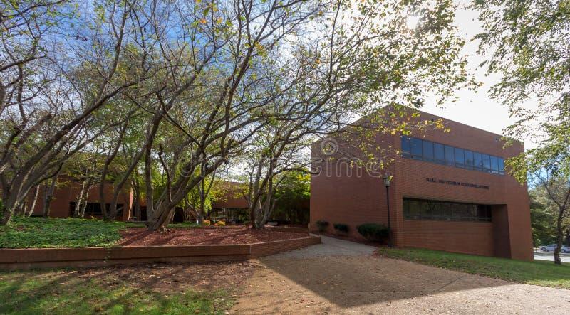 Hall-Patterson Building en WSSU imagen de archivo