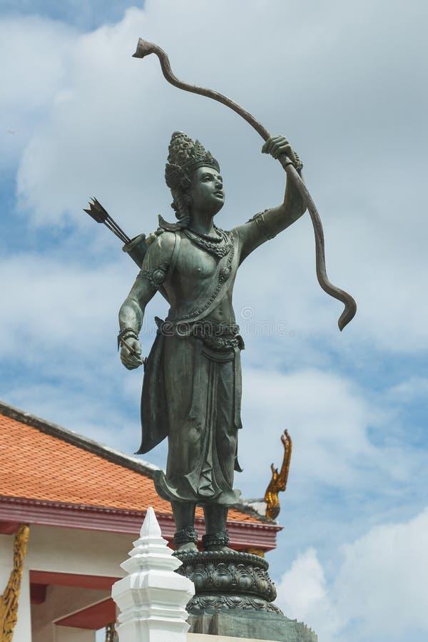 Hall Phuttaisawan throne, National Museum Bangkok. stock images