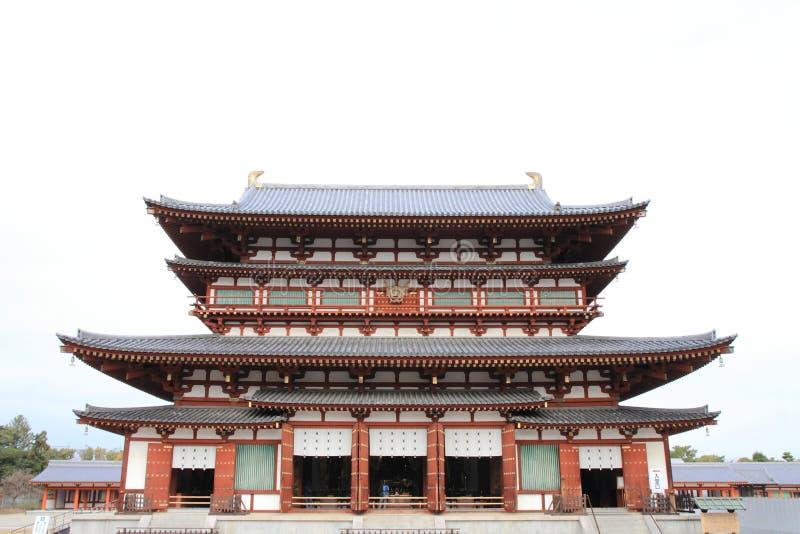 Hall principal de ji de Yakushi à Nara photographie stock