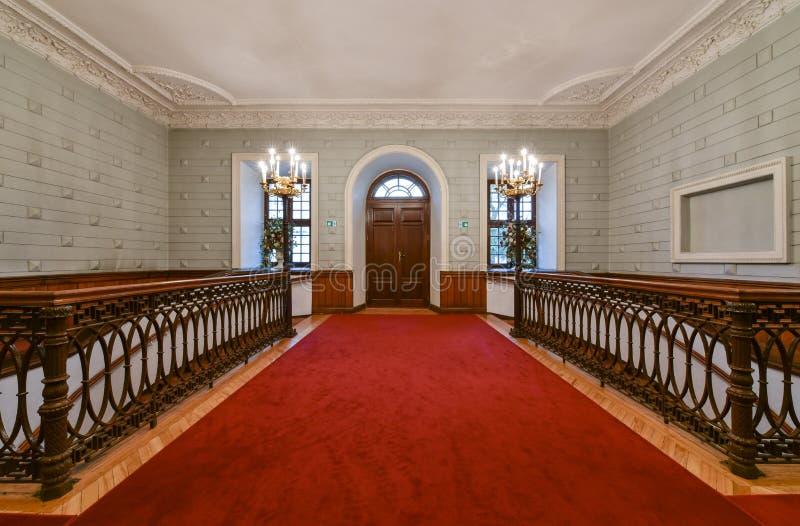 Hall stock image