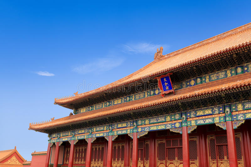 Download The Hall Of Supreme Harmony In Beijing,China Stock Photo - Image: 21210412
