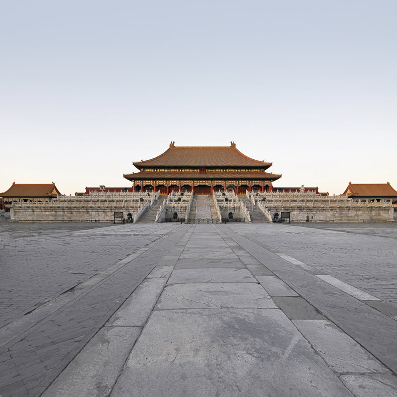 The Hall of Supreme Harmony in Imperial Palace royalty free stock image