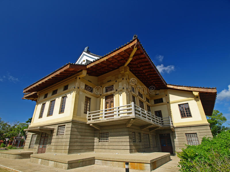 hall Tainan de bushido photographie stock
