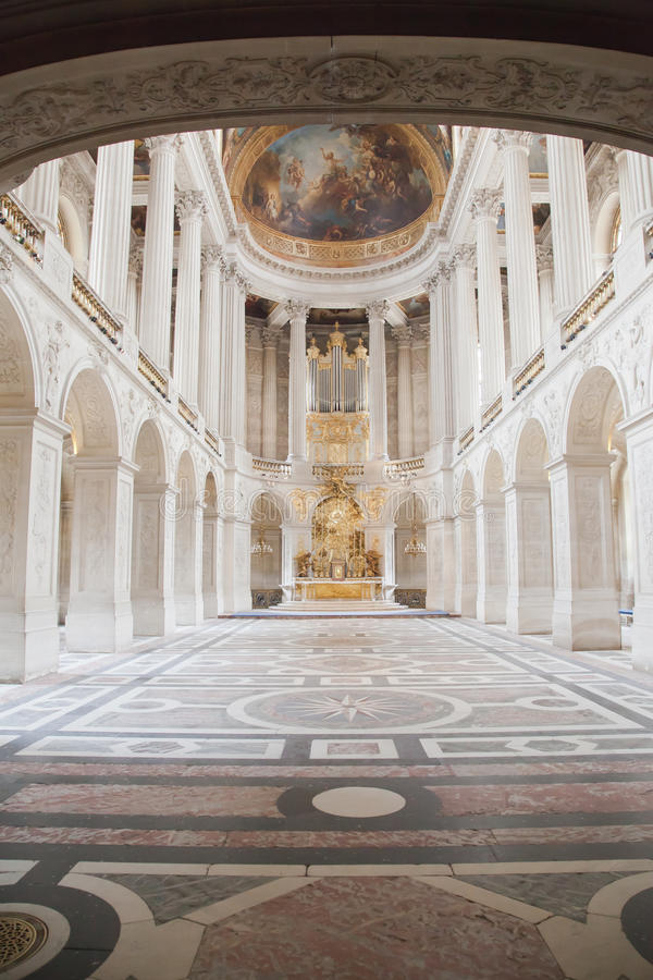 Hall of Versailles stock photo