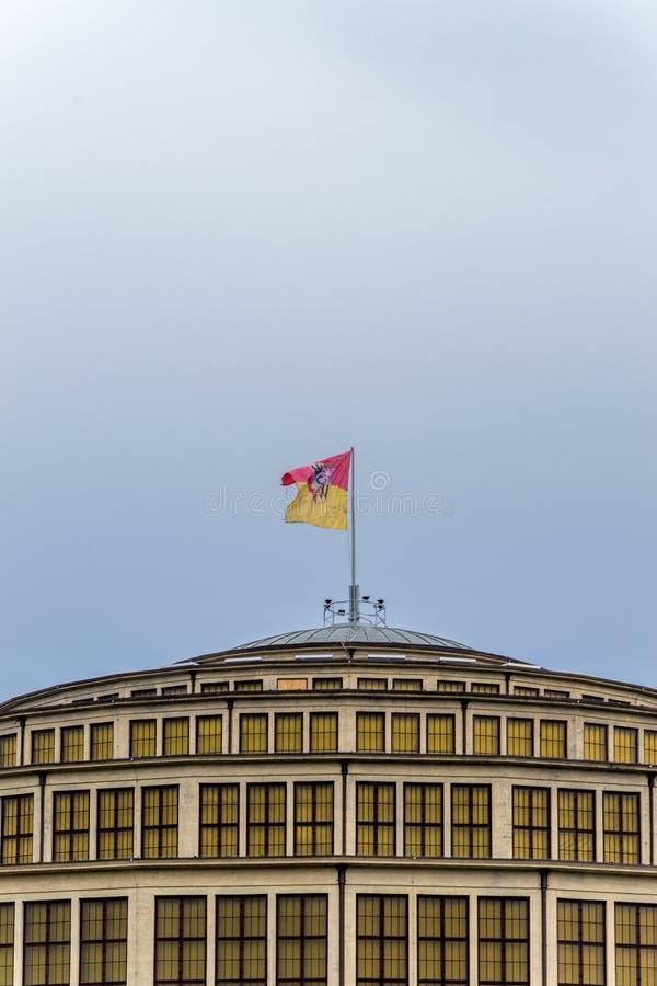 Hall Wroclaw centennale fotografia stock