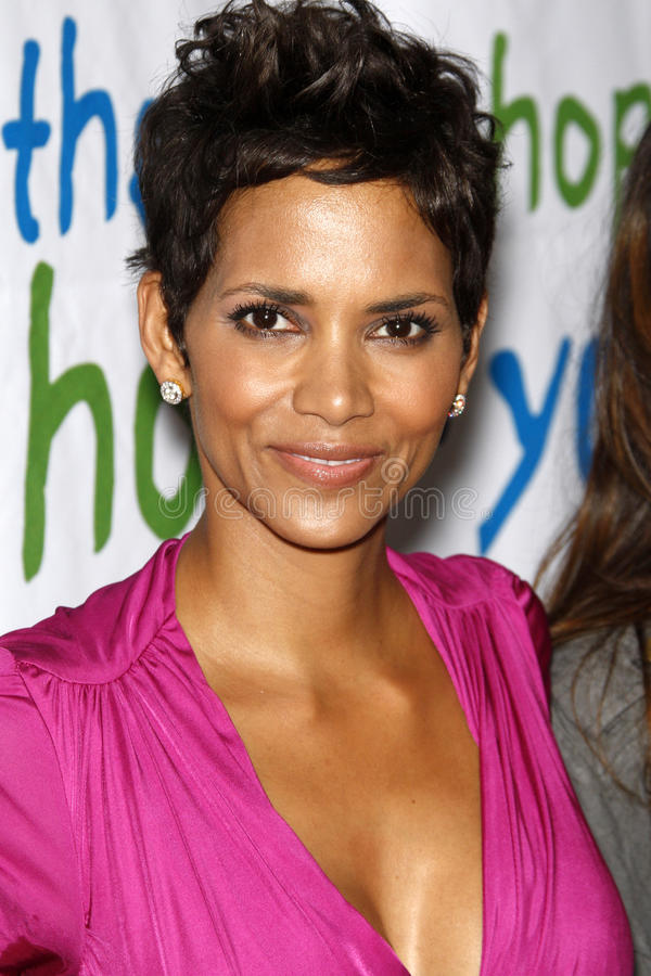 Halle Berry photographie stock