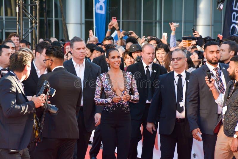 Halle Berry bij internationaal de filmfestival van Toronto voor KONINGENpremière stock fotografie