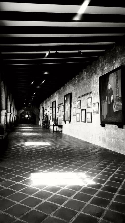 Halle von der Vergangenheit lizenzfreie stockfotografie