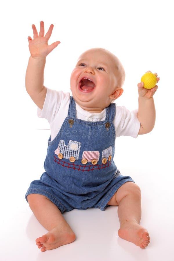 halleleujah гольфа шарика младенца стоковое изображение