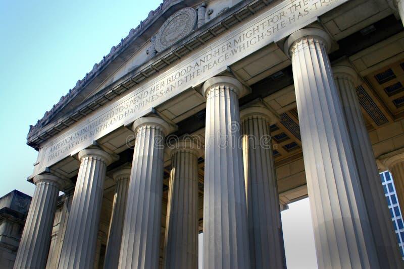 Hallen von Gerechtigkeit lizenzfreie stockfotografie