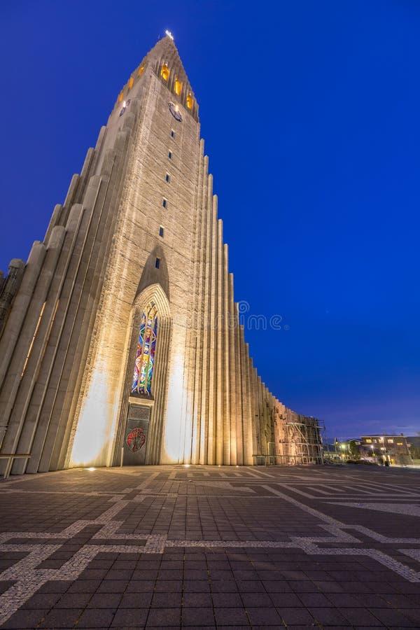 Hallgrimskirkja Cathedral stock images