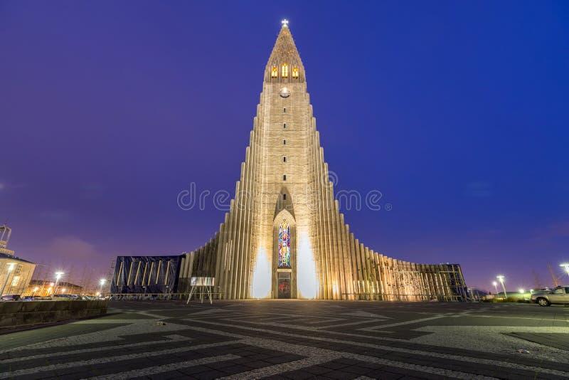 Hallgrimskirkja Cathedral royalty free stock image