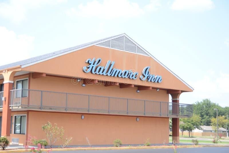Hallmarcherberg, Marion, Arkansas royalty-vrije stock afbeelding
