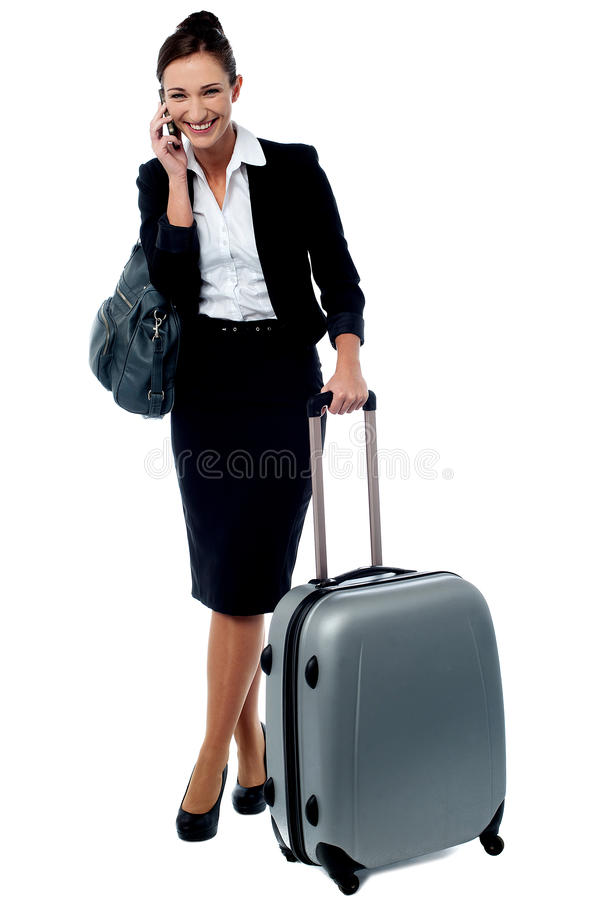 Hallo beste, wacht ik in luchthaven royalty-vrije stock foto's