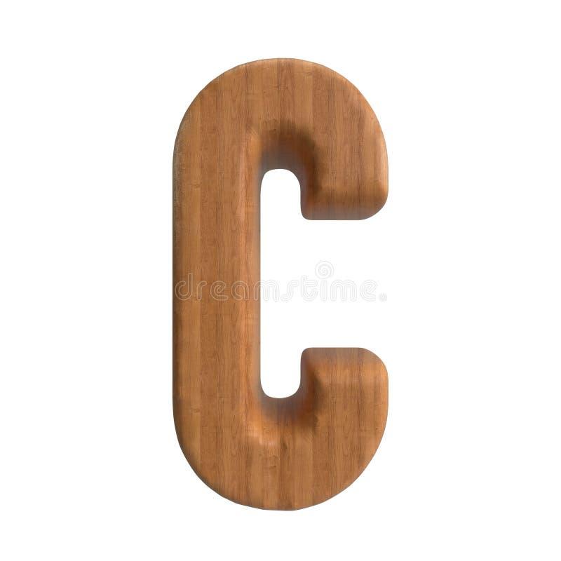 Hallo de Reeks van Resolutiea-z wood texture text voor Soort door tot u stock illustratie
