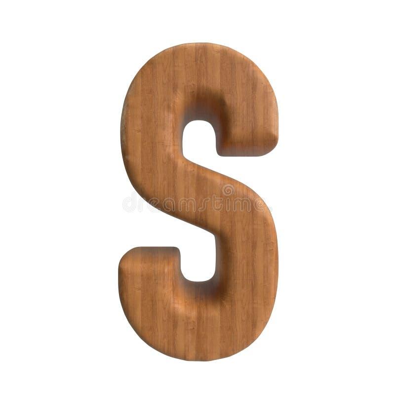Hallo Entschlie?ungs-A-Z Wood Texture Text-Reihe f?r Art vorbei bis zu Ihnen lizenzfreie abbildung