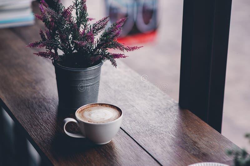 Hallo morgens mit aromatischem Liebeskaffee des Kaffees I mag ich t stockbild