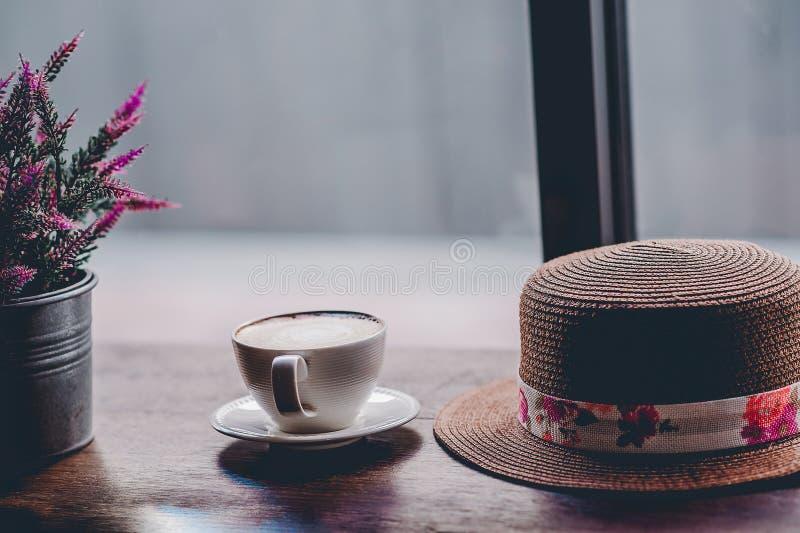 Hallo morgens mit aromatischem Liebeskaffee des Kaffees I mag ich t lizenzfreie stockbilder