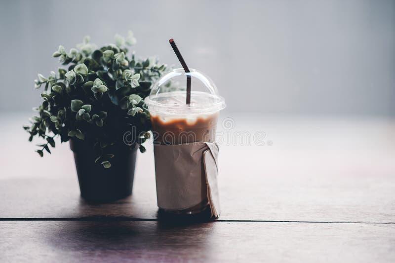 Hallo morgens mit aromatischem Liebeskaffee des Kaffees I mag ich t lizenzfreie stockfotografie