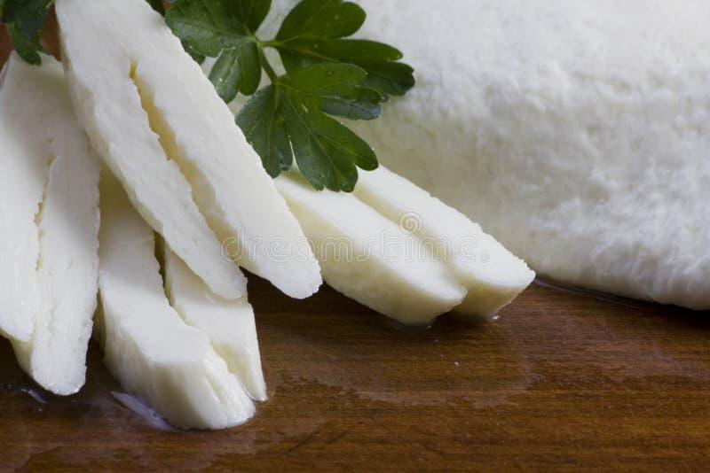 Halloumi cheese stock photo